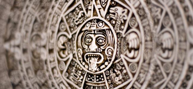 Sonnenscheibe Azteken
